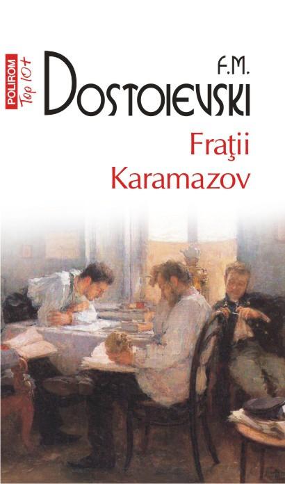 F. M.Dostoievski, Fratii Karamazov (copertă carte)